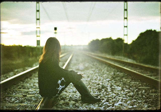 Photograph She is a train by Manuel Orero on 500px