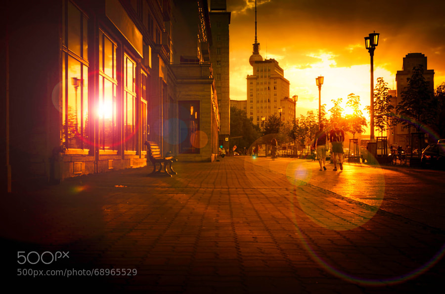 Photograph City Sunset by Ina Gat on 500px