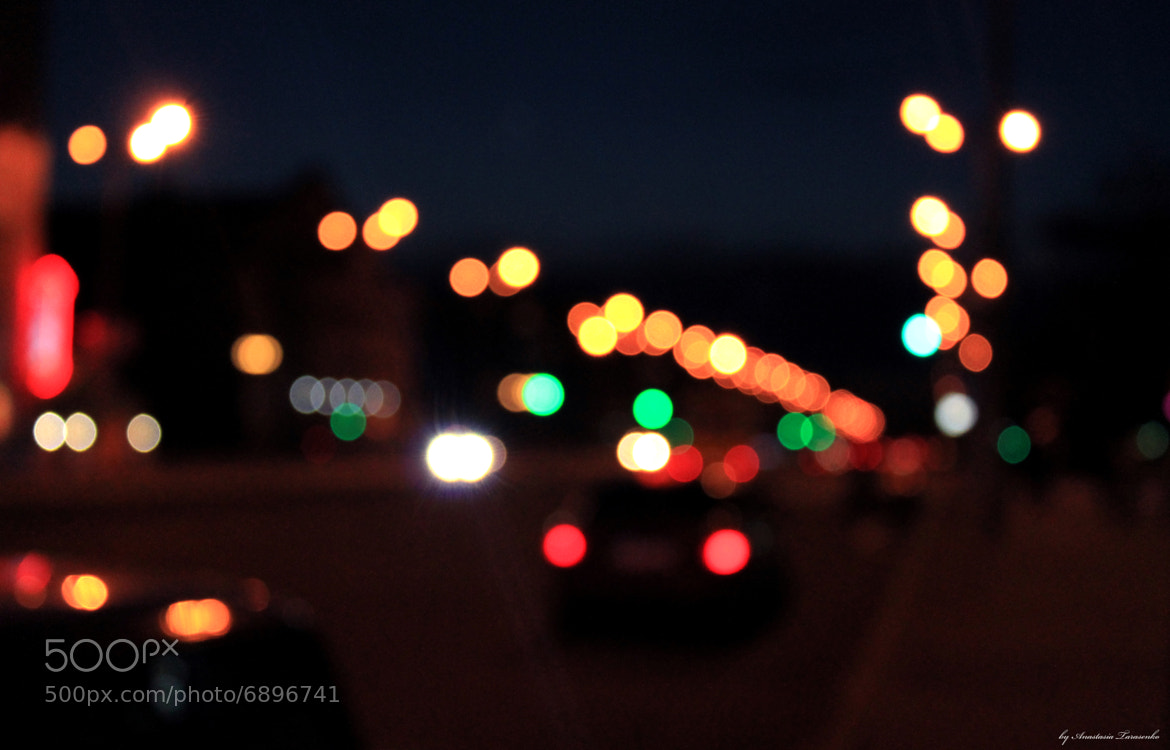 Photograph City Lights by Anastasia Tarasenko on 500px