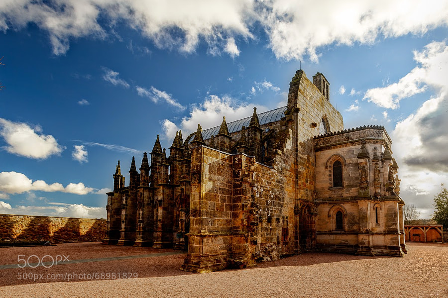 Photograph Rosslyn Chapel by David Kasper on 500px
