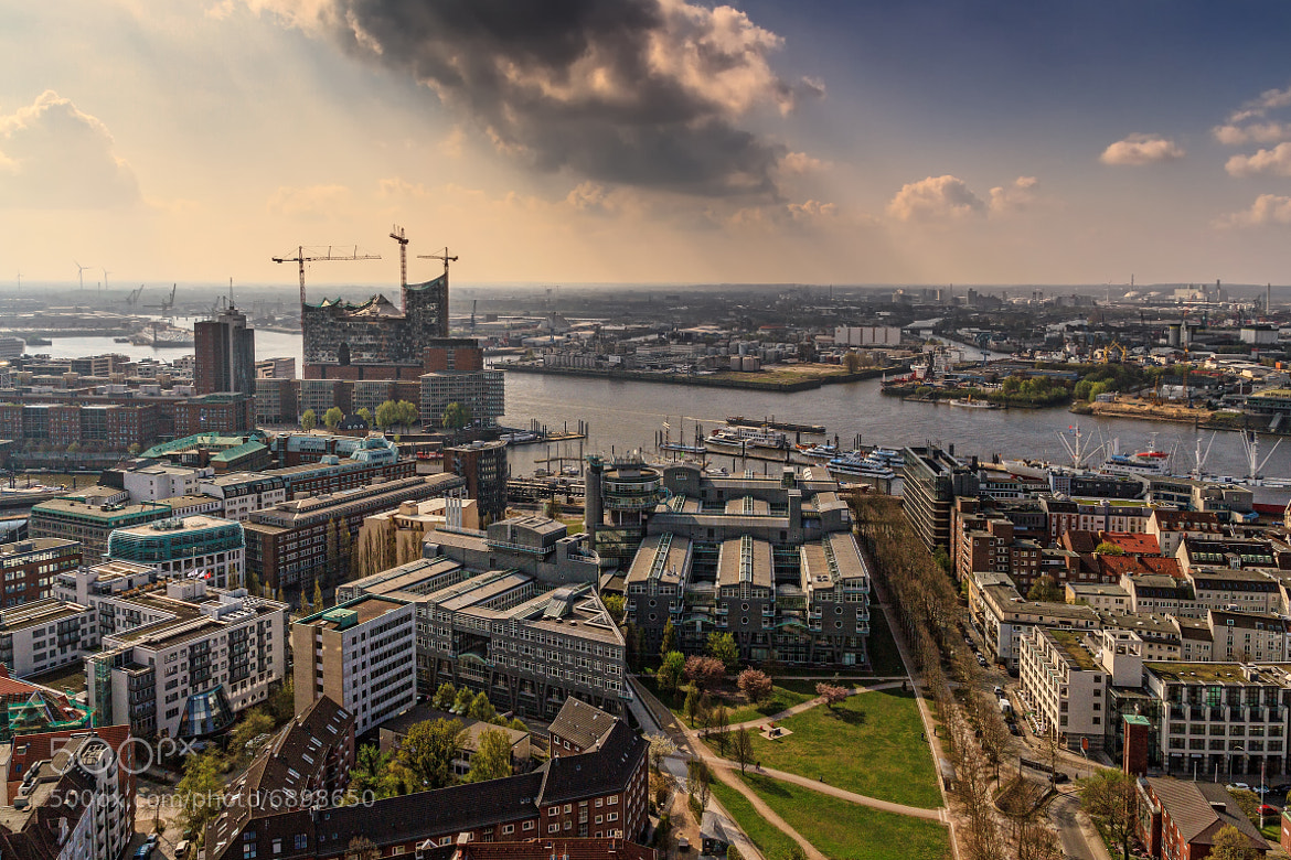 Photograph Hamburg Harbour by Jan Schättiger on 500px