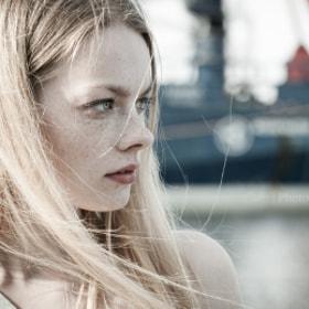 Shooting with Iris in Helsinki