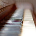 Faded Piano Keys