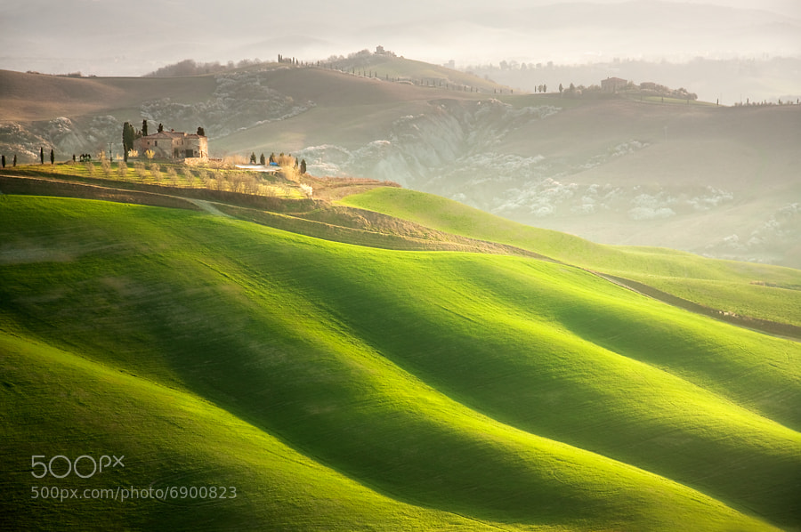 Photograph House on the hill by Marcin Sobas on 500px