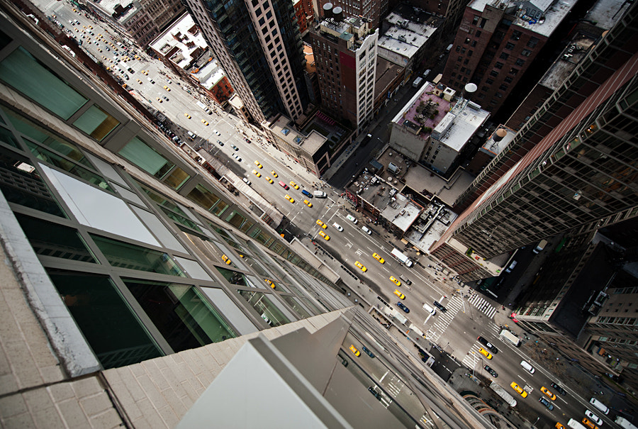most beautiful cities in the world -Intersection | NYC by Navid Baraty on 500px.com