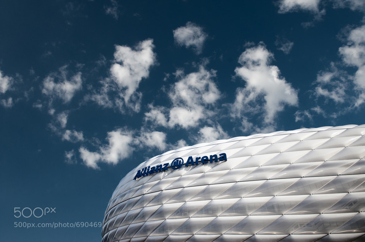 Photograph Allianz Arena by Andreas  Wecker on 500px