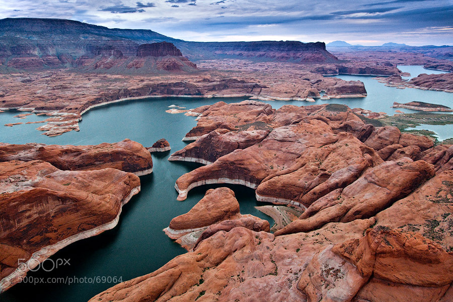Photograph  Flying over Lake Powell by Gleb Tarro on 500px