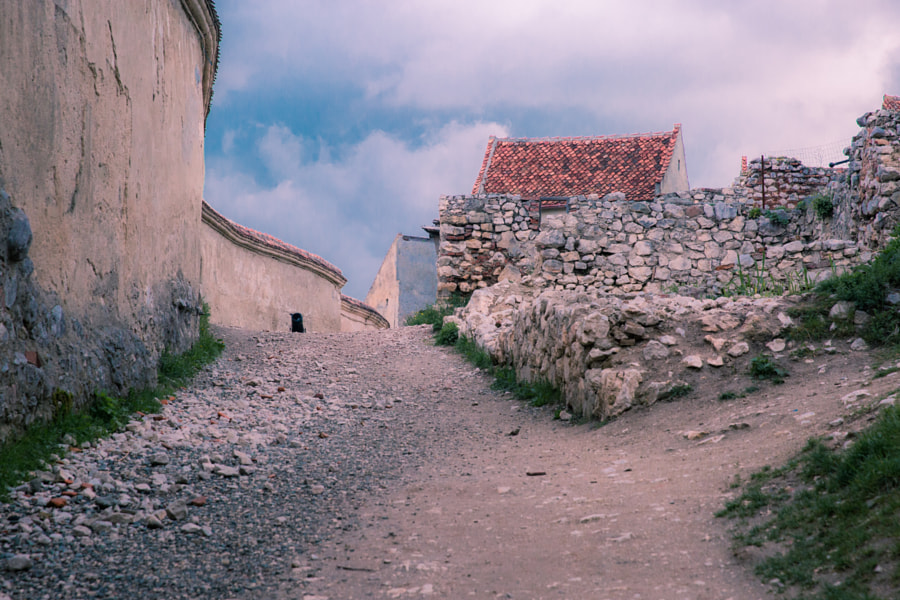 Ruins of an old town
