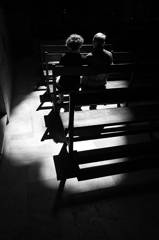 Photograph Couple in Church by Tim de Groot on 500px