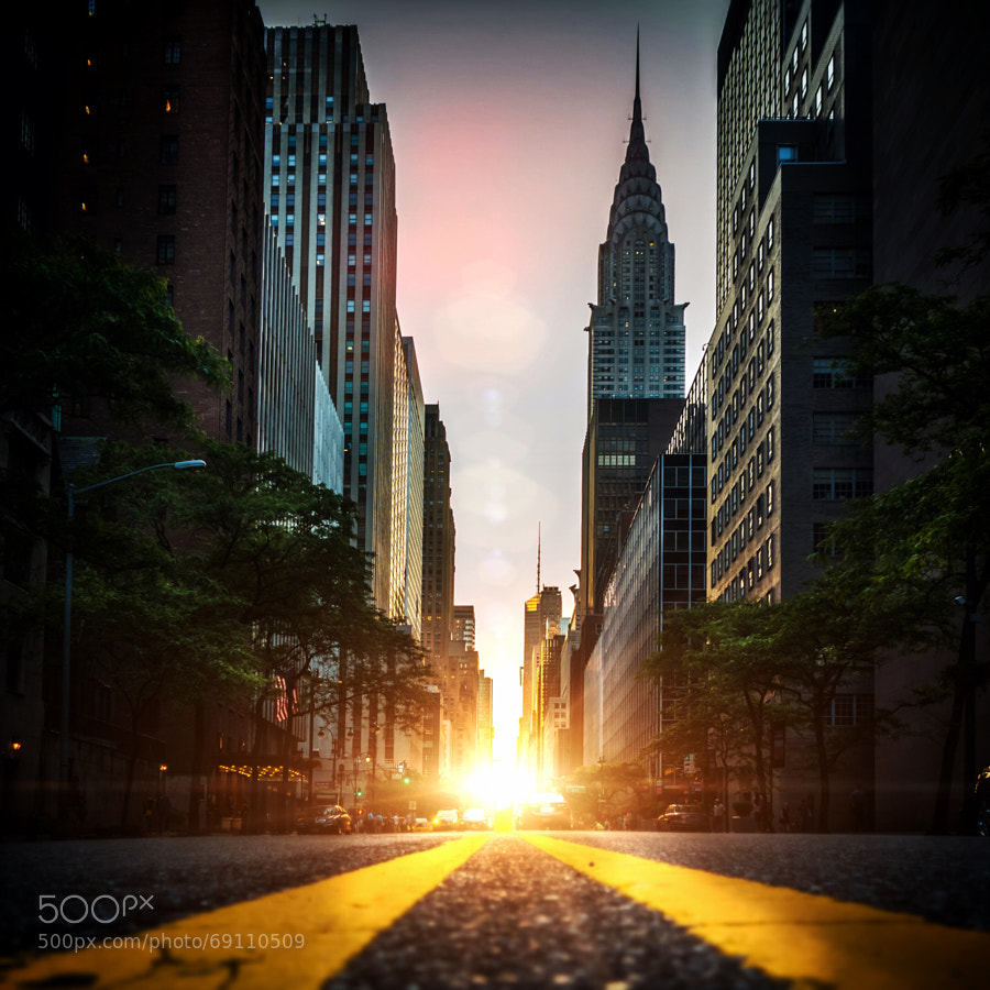 Photograph Manhattan Henge by Dan Martland on 500px