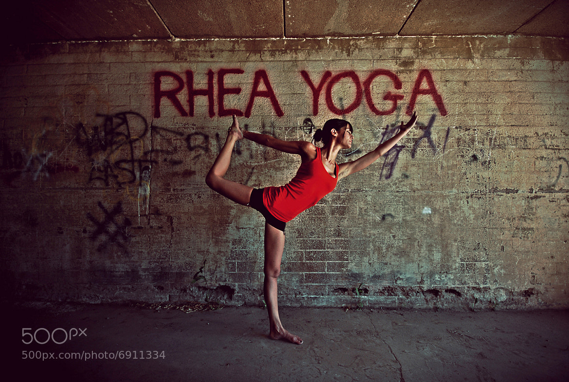 Photograph Rhea Yoga by CEP Industries Photography on 500px