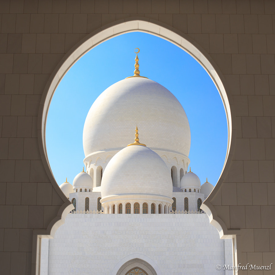 Bin Zayed Grand Mosque Abu Dhabi by Manfred Muenzl on 500px.com