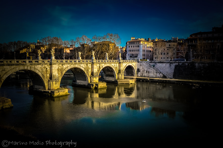 Photograph Castel Sant'Angelo by Marino Modio on 500px