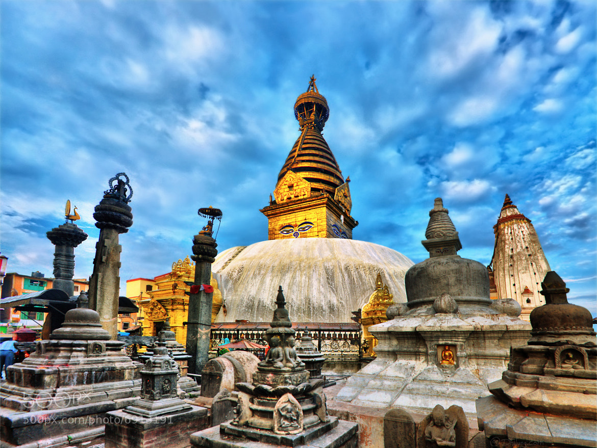 Photograph Nepal - Swayambhunath (Monkey Temple) by Dhilung Kirat on 500px
