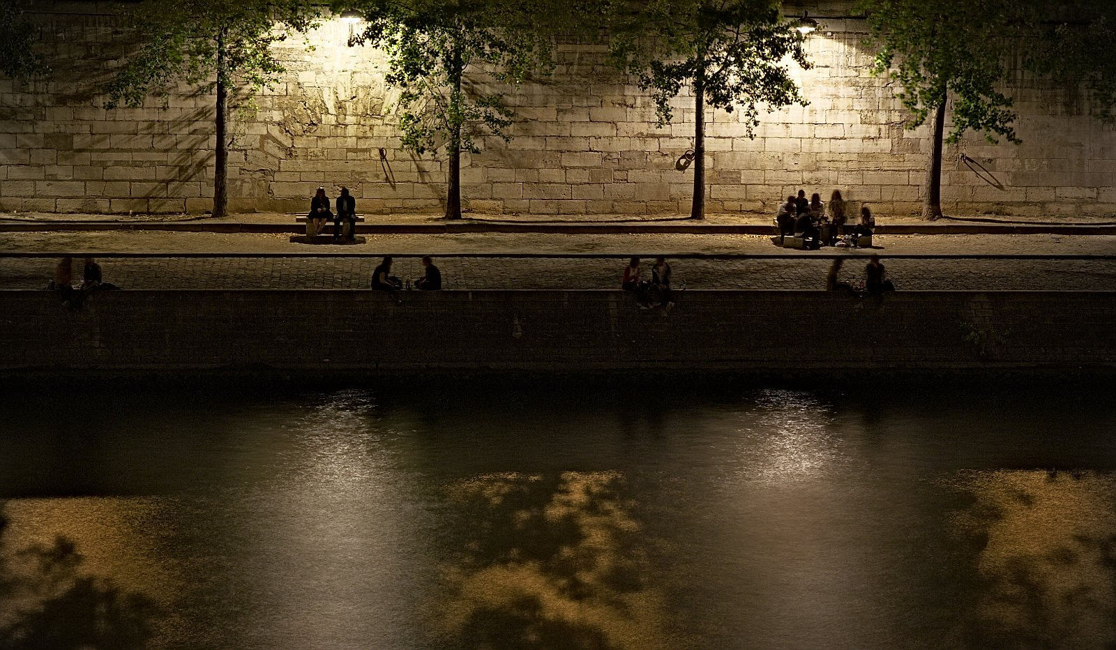 Photograph Friends by the Seine by Thomas Paris on 500px