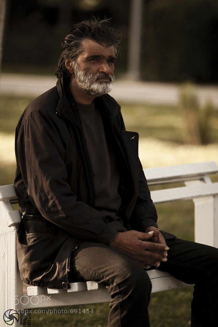 Photograph Sad Man by Ali Malek on 500px