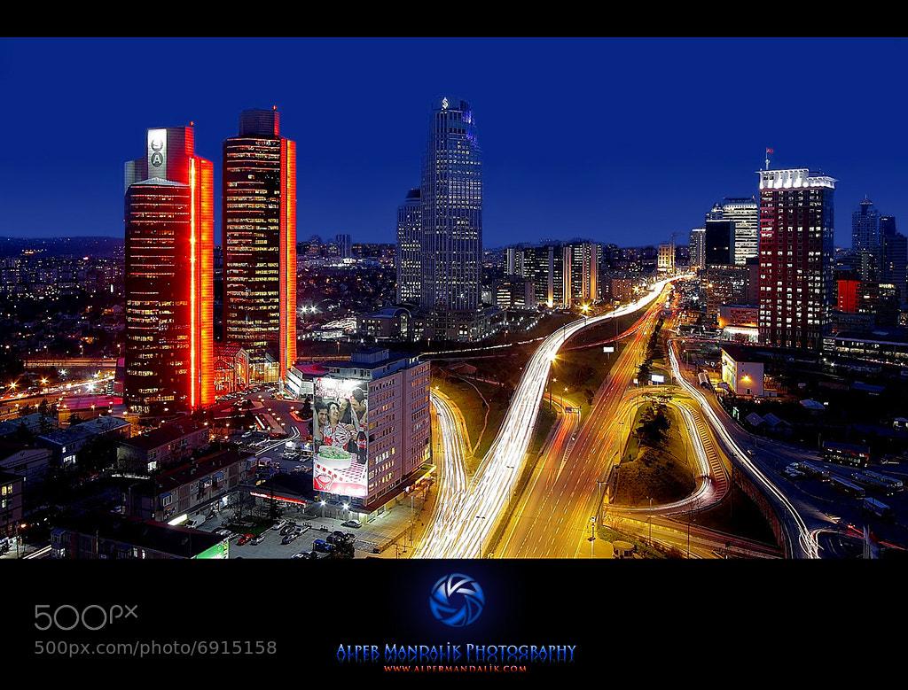 Photograph Night in Istanbul by Alper Mandalik on 500px