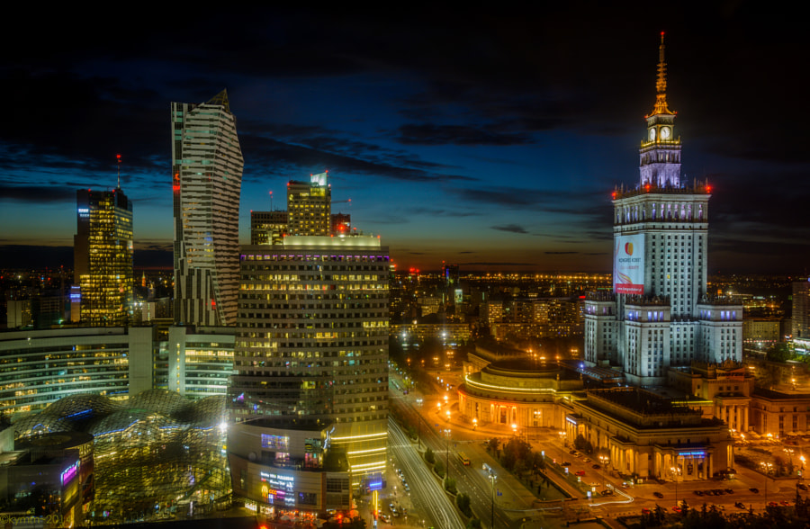 palace of science and culture - warsaw by kym mcwhirter on 500px.com