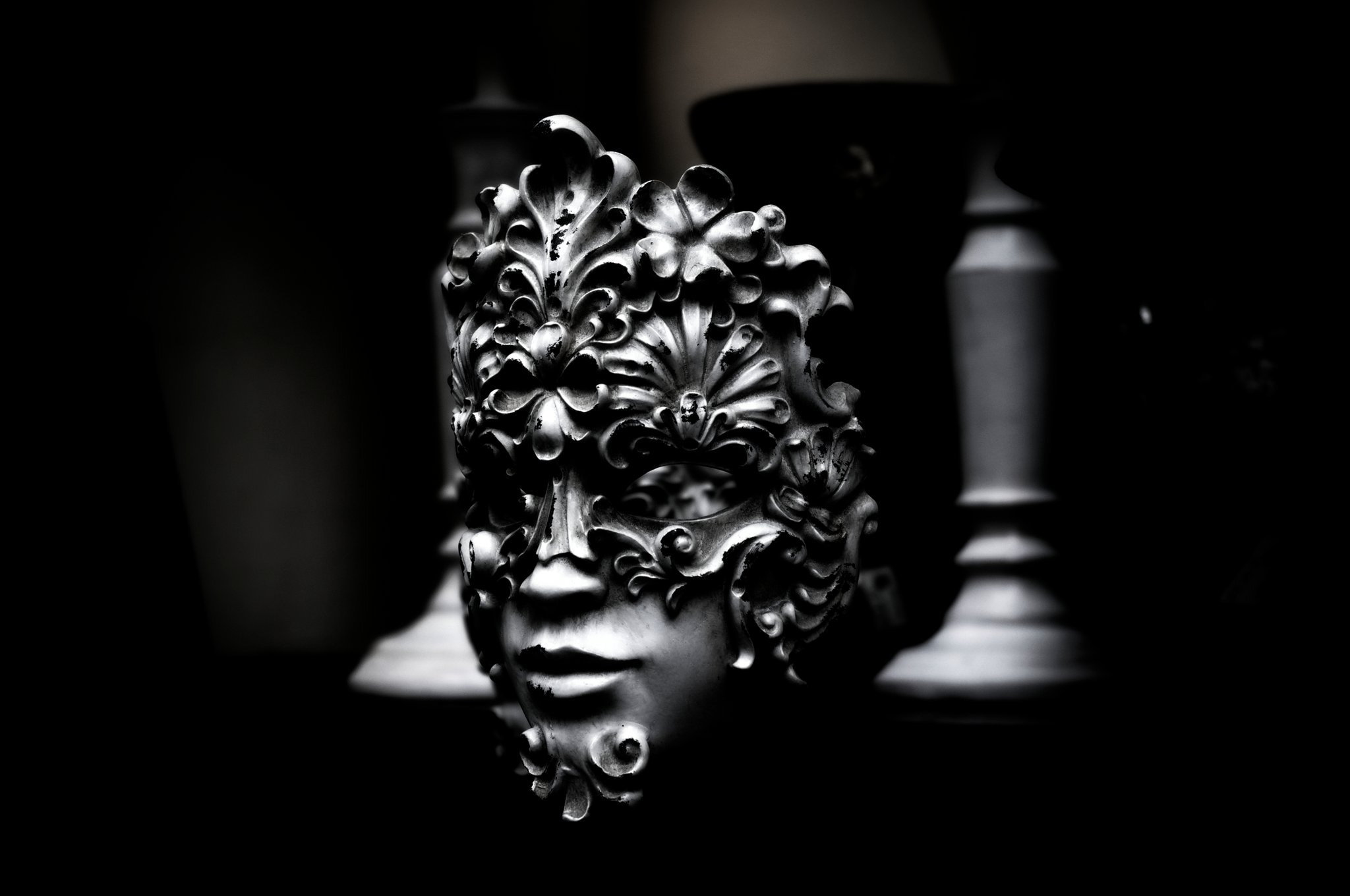 Photograph Mask on the shelf by Proton Pseudos on 500px
