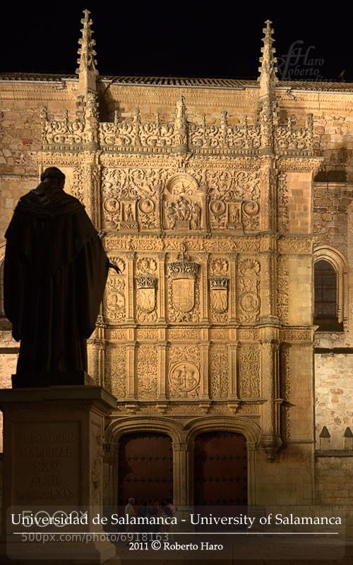 Photograph Universidad de Salamanca. // University of Salamanca by Roberto H. on 500px