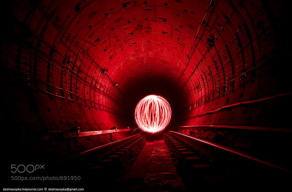 Photograph freezelight in subway by Vadim Makhorov on 500px