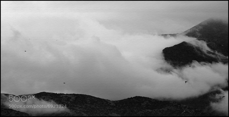 """Photograph """"cloudy mountain"""" by Kounoupis Anastasios  on 500px"""