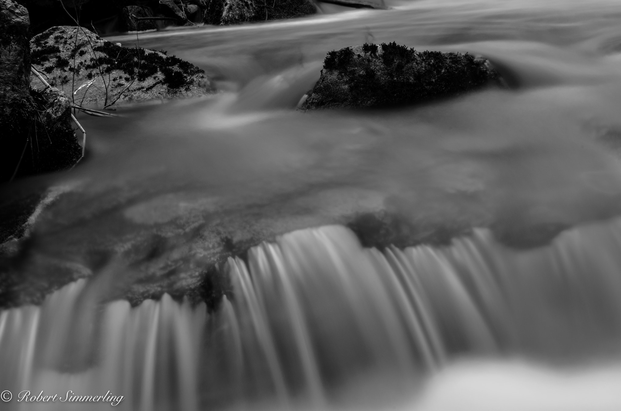 Photograph Flowing Creek #1 by Robert Simmerling on 500px