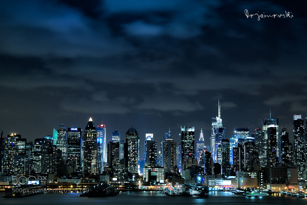 Photograph New York City by Night by Bobi Dojcinovski on 500px