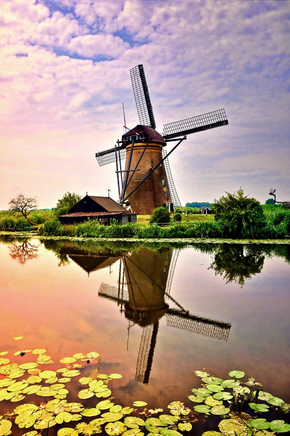 Photograph Windmill Kinderdijk by Edi Nugraha on 500px