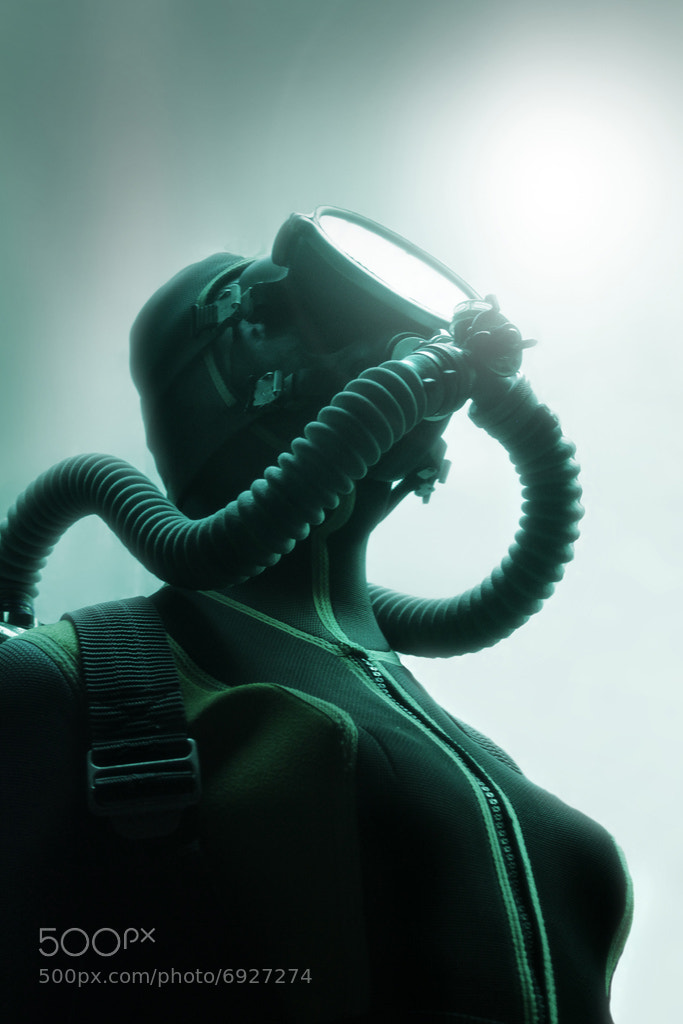 Photograph Diver 2840 by Toni Polkowski on 500px