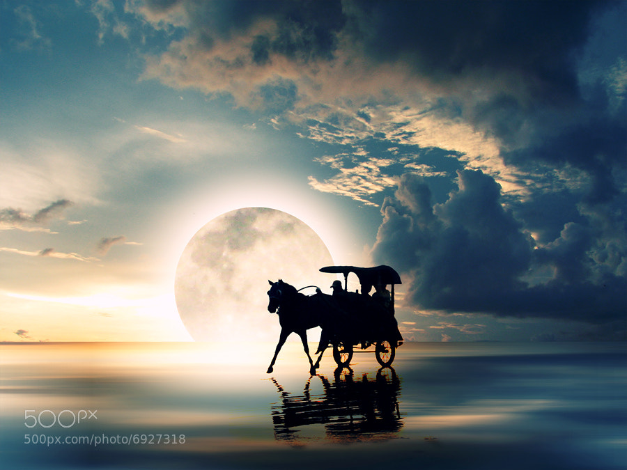 Photograph Return from The Moon by 3 Joko on 500px