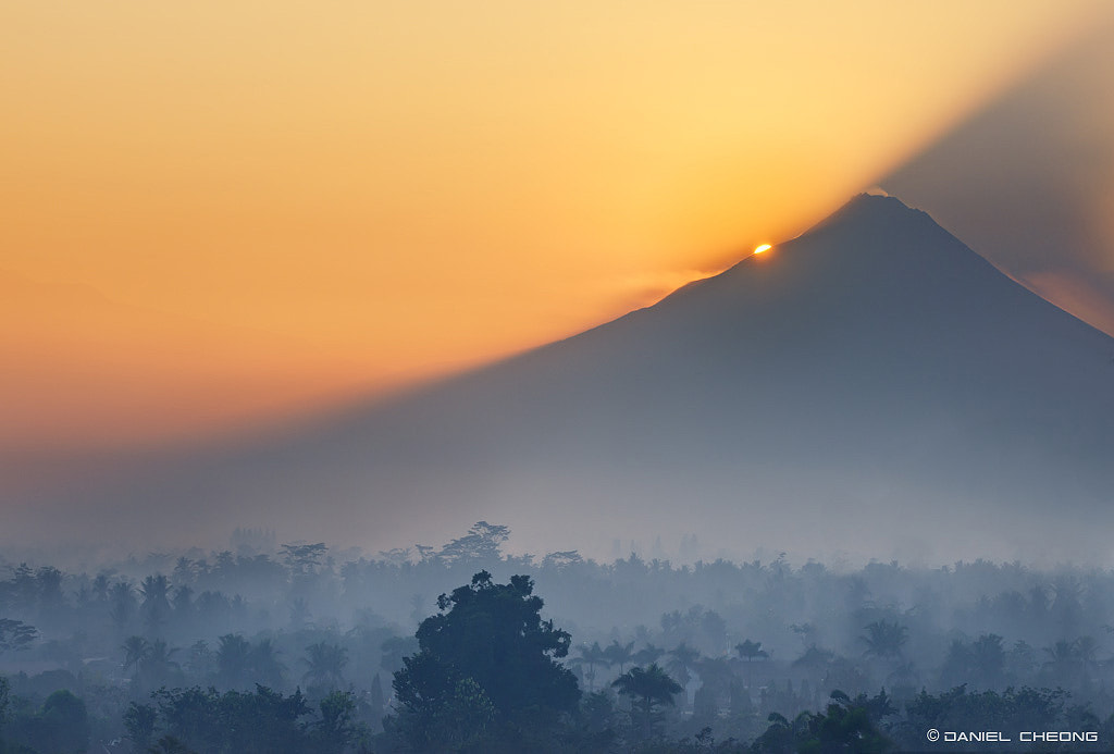 Photograph Mount Merapi Sunrise by Daniel Cheong on 500px