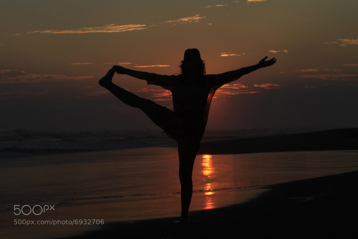 Photograph Yoga, beach,  and sunset by Cristobal Garciaferro Rubio on 500px