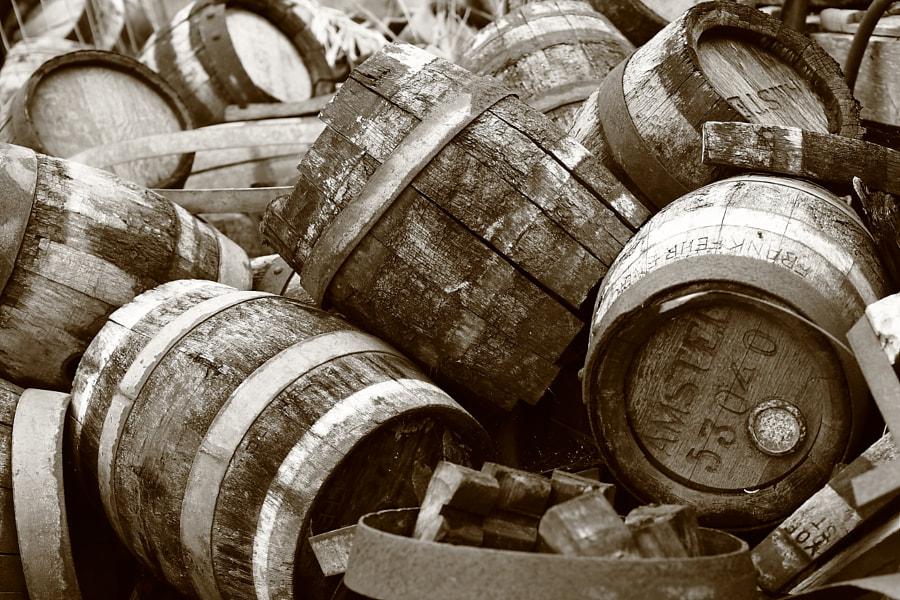 Old Beer Kegs by Alexander Gulayev on 500px.com