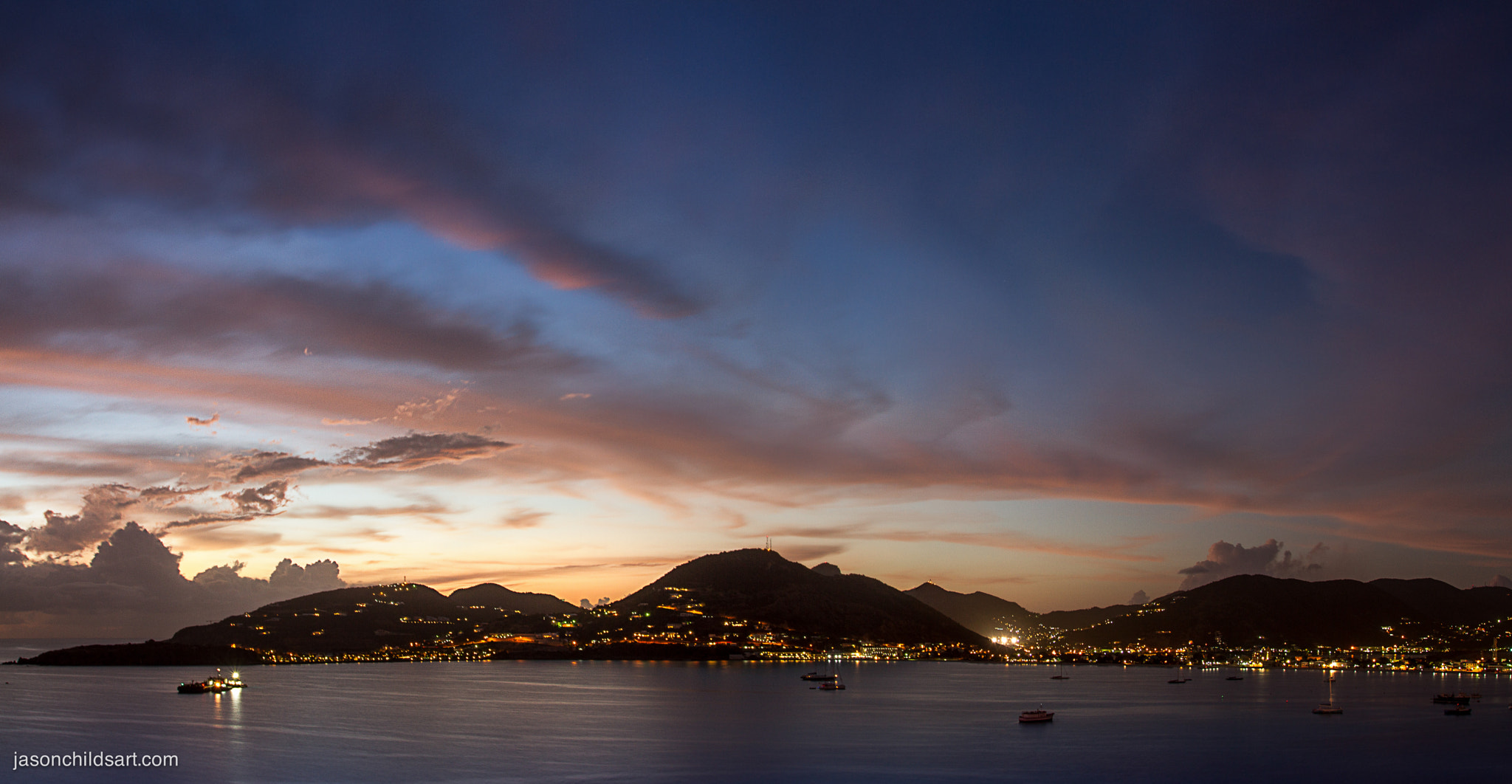 Photograph St. Martin at Dusk by Jason Childs on 500px