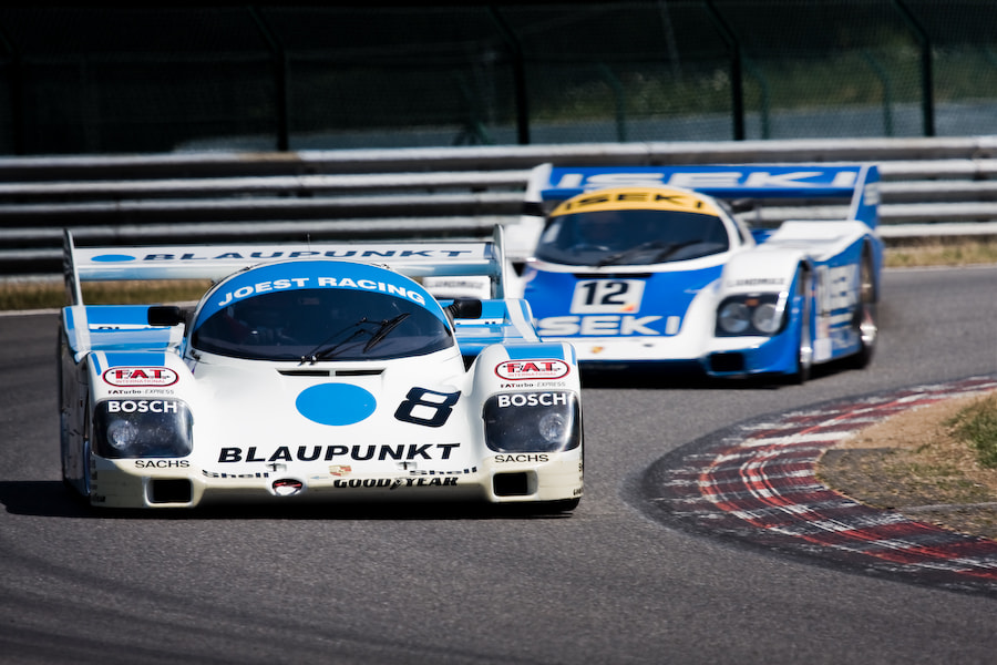 Photograph 'Blaupunkt' Porsche 962 by Jurrie  Vanhalle on 500px