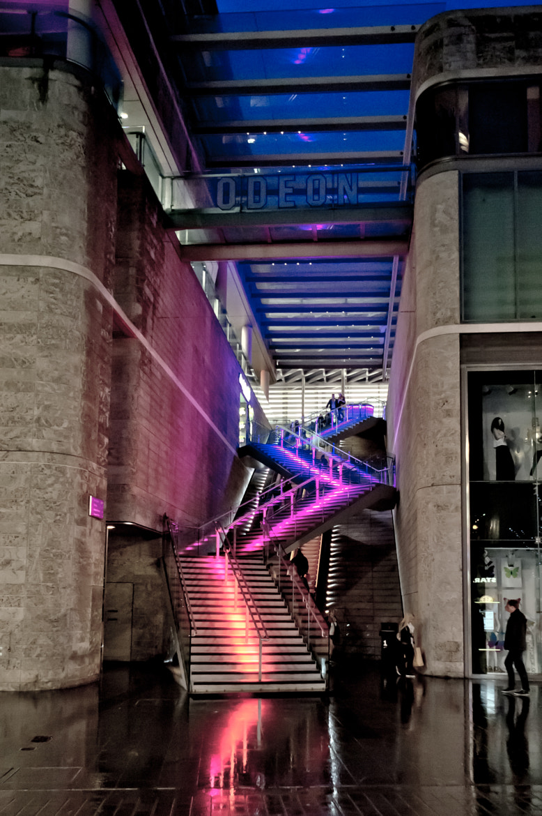 Photograph ODEON Stairs, Liverpool by Cristian Marcos on 500px