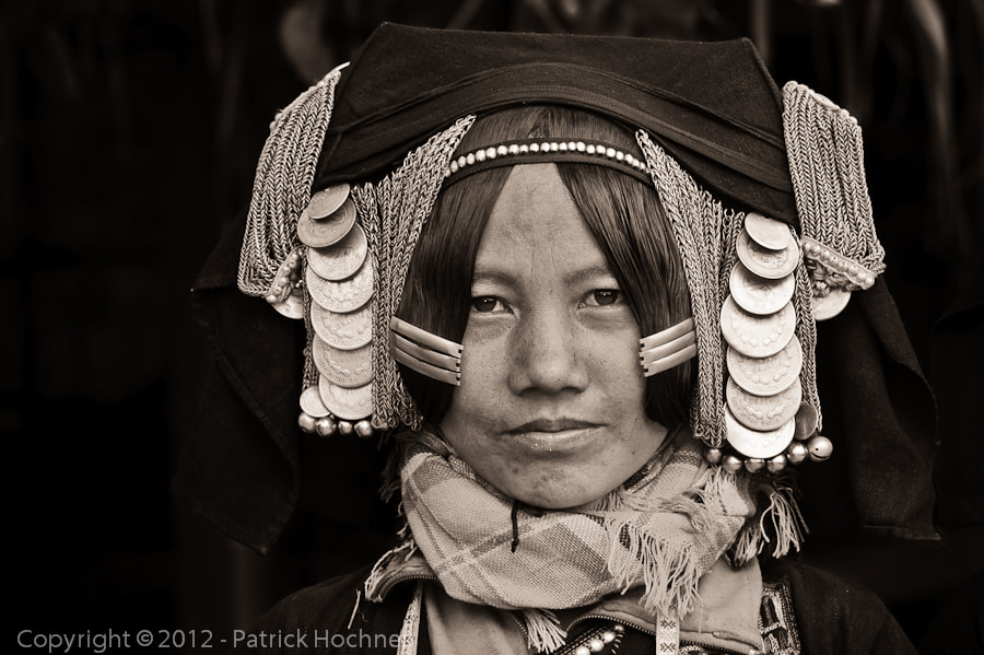 Photograph Akha Pixo woman by Patrick Hochner on 500px