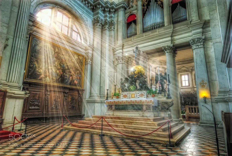 Photograph Venice-Basilica diSan Giorgio Maggiore-L'altare maggiore by Maurizio Fecchio on 500px