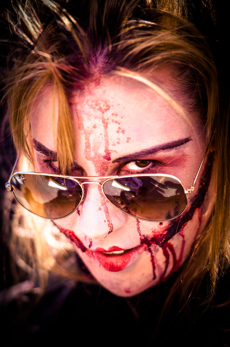 Photograph Zombi girld by Absuelto Madrid on 500px
