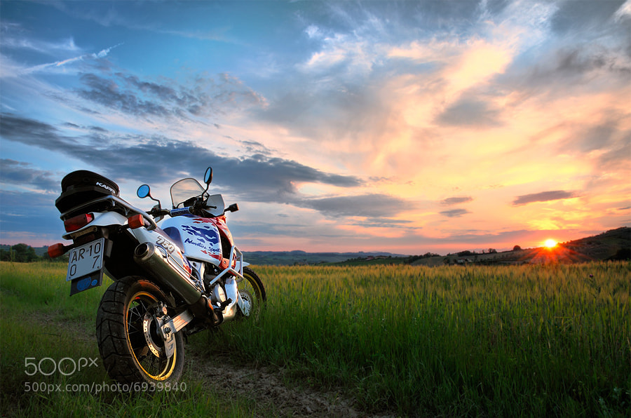 Photograph Honda XRV 750 Africa Twin by Fulvio Bogani on 500px