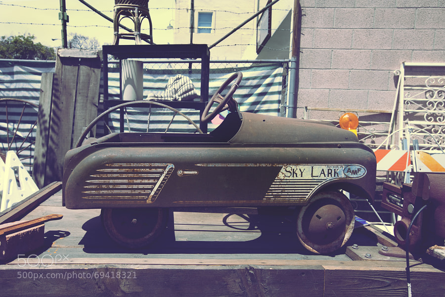 Photograph AMF Skylark Pedal Car by Mike Limestro on 500px