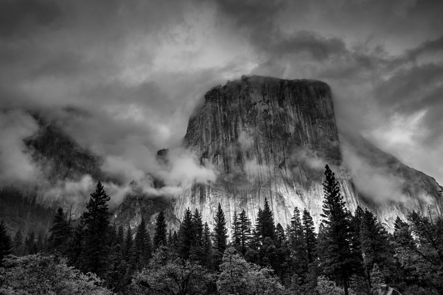 Photograph el capitan bw by vivek vijaykumar on 500px