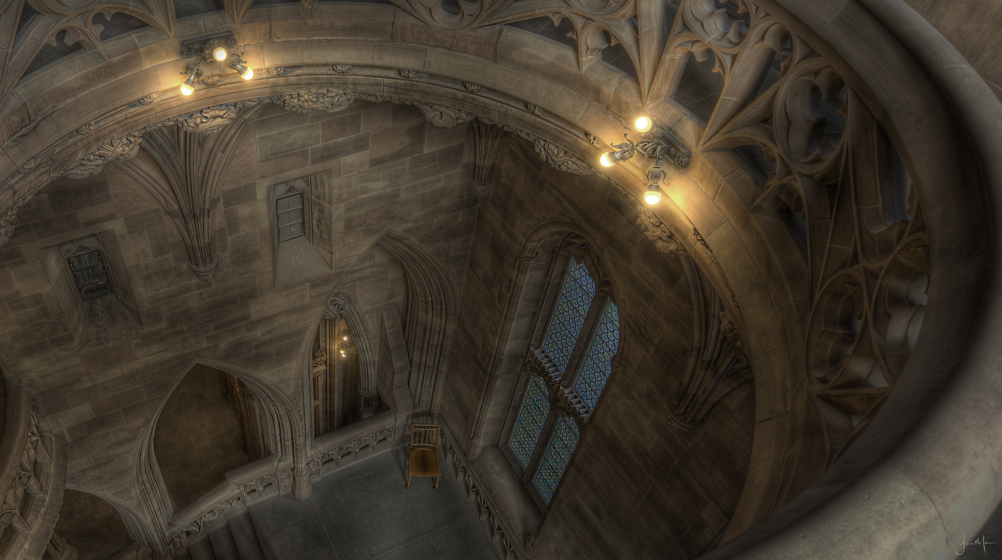 Photograph John Rylands LIbrary Ceiling From Above by Jason Merrin on 500px