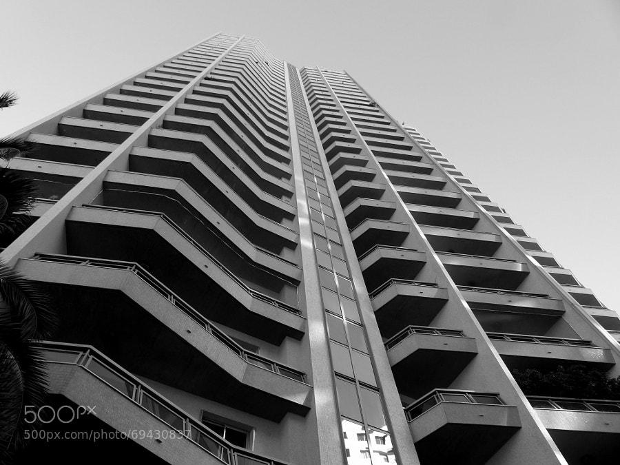 Skyscraper in black and white by la claud