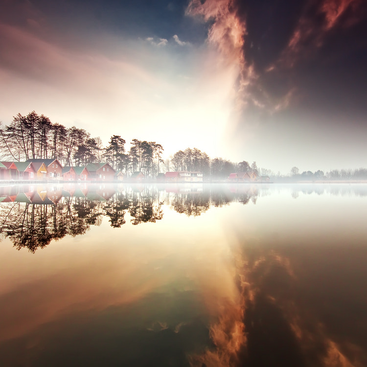 Photograph nordic fog by Adam Dobrovits on 500px