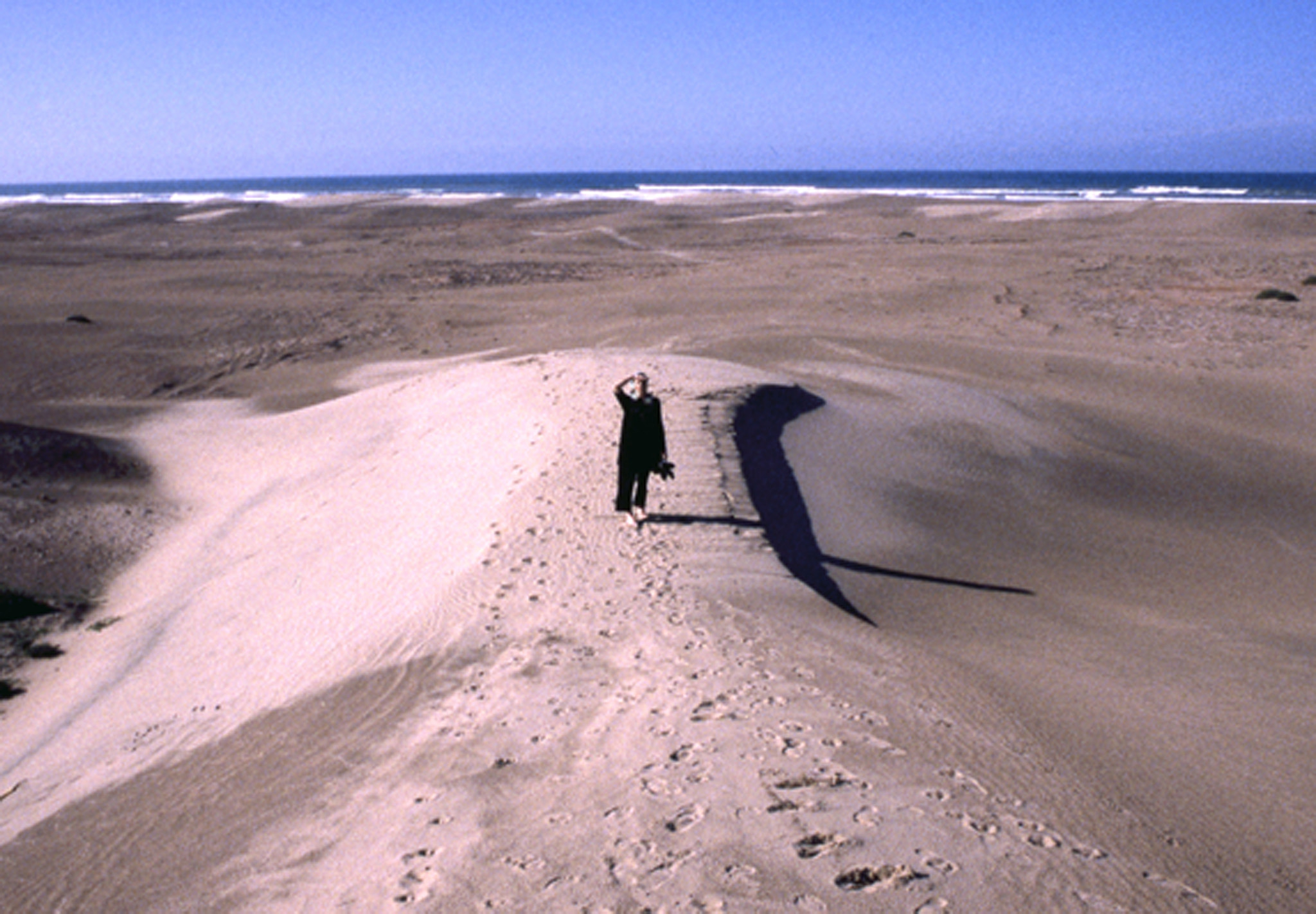 Photograph woman in the dunes, Atlantic by Ashen Venema on 500px