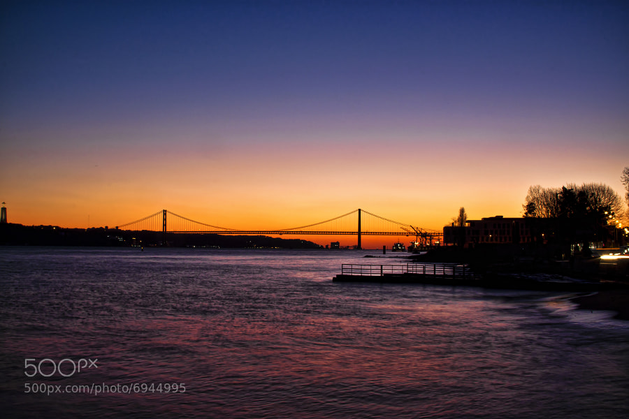 Photograph Lisbon sunset by Carlos Garcia Sanchez on 500px