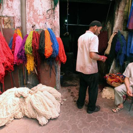 Wool souk