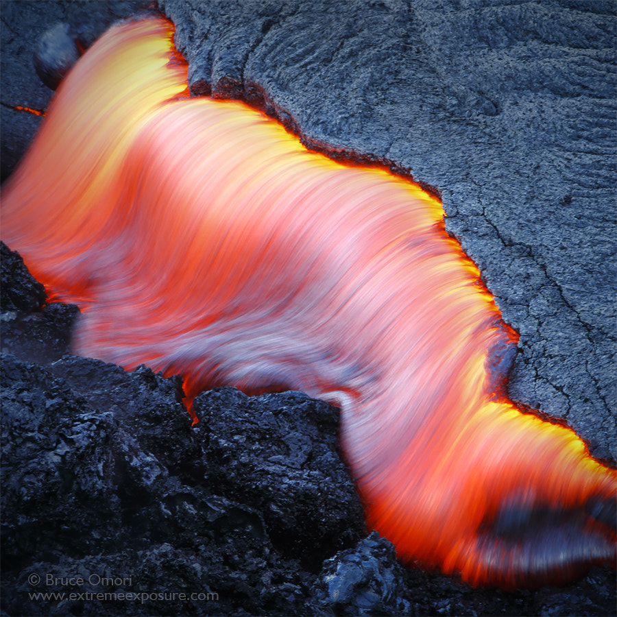 Red, hot, molten lava by Bruce Omori on 500px.com